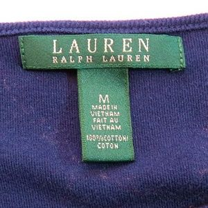 Ralph Lauren Dresses - Lauren Ralph Lauren Nautical Belt Pullover Dress
